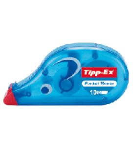 Corrector de cinta 4,2mmx10mts pocket mouse tipp-ex 51088