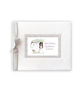 Libro de firmas mi primera comunion niña arbol arguval 44045 - 44045