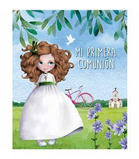 Libro comunion niña bicicleta arguval 44158 - 44158