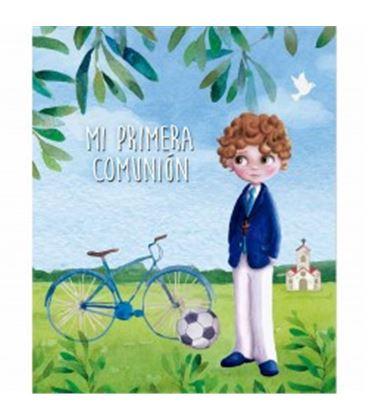 Libro comunion niño bicicleta arguval 44159 - 44159