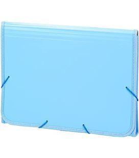 Clasificador acoreon pp fº goma azul pastel soft carchivo 19260010 - 19260010