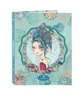 Carpeta folio 4 anillas mixtas santoro™´s mirabelle marina safta 512013067 - 512013067