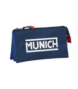 "Estuche vacío triple munich ""retro"" safta 812074744 - 812074744"