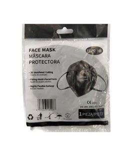 Mascarilla ffp2 nr homologada ce negra mediasanex 180081 - 45757