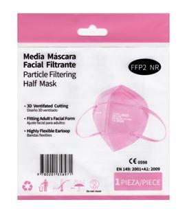 Mascarilla ffp2 nr homologada ce rosa mediasanex 181183 - 45759