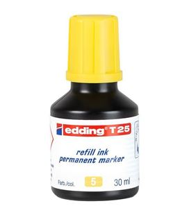Tinta permanente 30ml recargable amarillo nº5 edding t-25 - 10T25-05