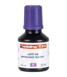 Tinta permanente 30ml recargable violeta nº8 edding t-25 - 10T25-08