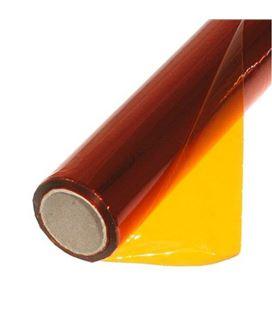 Papel celofan 50x65 25h rollo naranja sadipal 12507