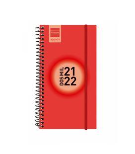 Agenda escolar 21/22 e9 semana vista label rojo finocam 633023022 - 633023022