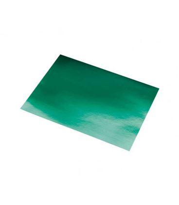 Cartulina metalizada 50cmsx65cms 10h verde sadipal 20258 - 20258