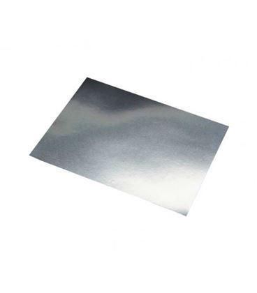 Cartulina metalizada 50cmsx65cms 10h plata sadipal 202590 - 20259
