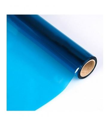 Papel celofan 50x65 25h rollo azul sadipal 12502 - 12502