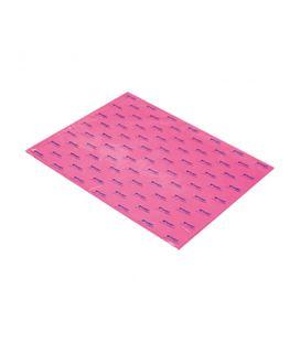 Papel seda 51cmsx76cms 25h rosa fuerte sadipal 11135
