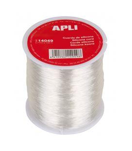 Bobina cuerda silicona 0,7mm x 100m apli 14049 - 14049