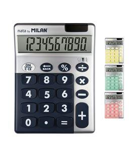 Calculadora 10 dig silver milan 159906sl - 159906SL_02