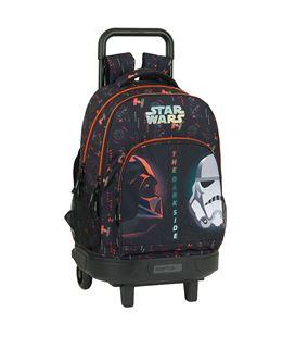 "Mochila gde. c/ruedas compact extraible star wars ""the dark side"" safta 618 - 612101918"