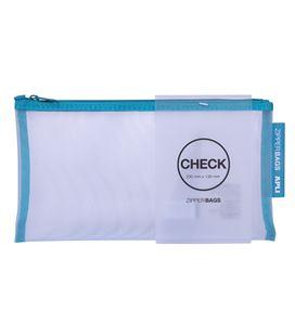Bolsa multiuso check 230x130 cremallera surtida apli 18025 - 18025