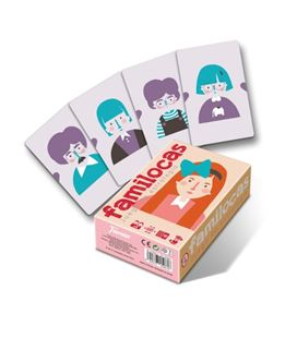 Baraja de cartas familocas juego estrategia fournier 1028134 - 1028134_FAMILOCAS