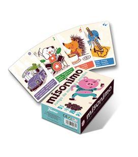 Baraja de cartas misonimo juego de mímica y sonido fournier 1028152 - 1028152_MISONIMO