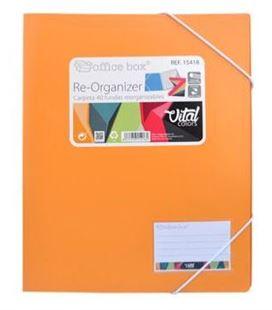 Carpeta 40 fundas re-organizer vital colors officebox 15418 - 15418-2