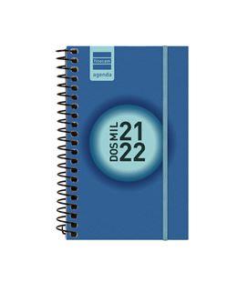 Agenda escolar 21/22 e3 semana vista label azul cob+ finocam 632001522 - 632001522