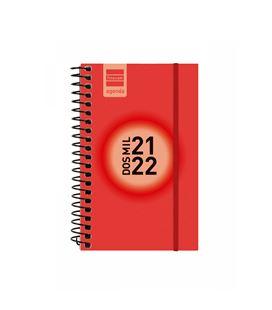 Agenda escolar 21/22 e3 semana vista label rojo finocam 632003022 - 632003022