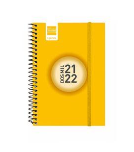 Agenda escolar 21/22 e8 semana vista color amarillo finocam 630521722 - 630521722
