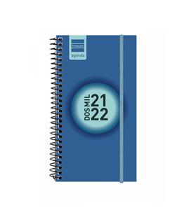 Agenda escolar 21/22 e9 semana vista label azul cob finocam 633021522 - 633021522