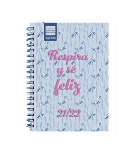 Agenda escolar 21/22 1/8 semana vista mini-i feliz finocam 530403222 - 530403222