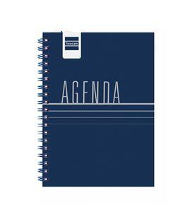 Agenda escolar 21/22 1/8 semana vista mini-i lisa azul finocam 532261922 - 532261922