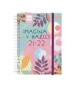 Agenda escolar 21/22 1/8 2 dias pagina mini-i hazlo finocam 530303122 - 530303122