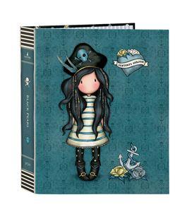 Carpeta fº 4 anillas lomo ancho gorjuss™ pirates black pearl safta 52212165 - 522121657
