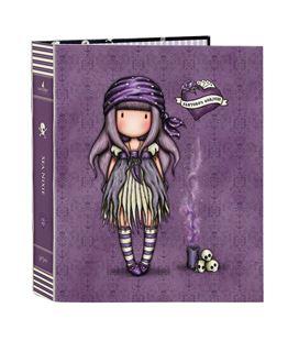 Carpeta fº 4 anillas lomo ancho gorjuss™ pirates sea nixie safta 52212165 - 522120657