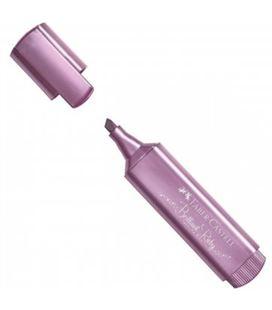 Marcador fluorescente metálico rubí textliner faber castel 154691 548917
