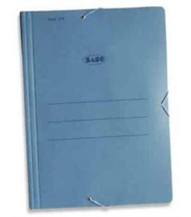 Carpeta carton azul gomas solapa grande mod 316 saro - 67828