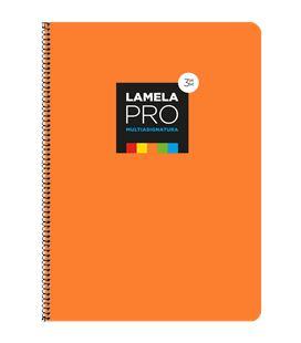 Cuaderno fº 3mm 100h 90grs tapa extra dura naranja lamela 7fte103n - 7FTE103N