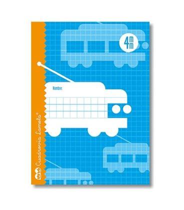 Cuaderno 4º 4mm 16h 70g cuadrovia lamela 05004 - 05004