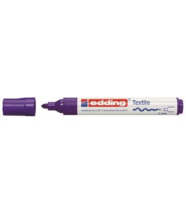 Rotulador permanente textil edding 4500 lila - 114243