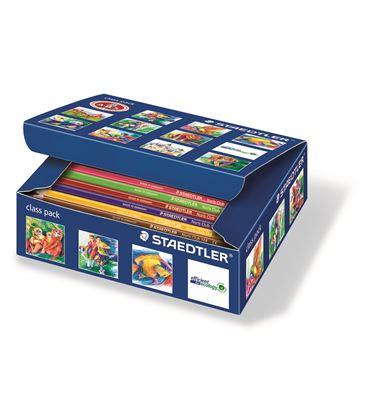 Lapicero lapizs color pack 144 uds. surtidos noris club 144 staedtler c144 - 114122
