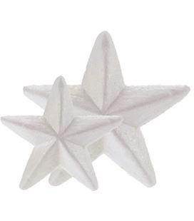 Estrellas poliespan 7,5cm pack 6 figuras smart 3009