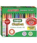 Rotuladores colores schoolpack 216 uds.(12 colores) standart alpino ar0001 - 114191