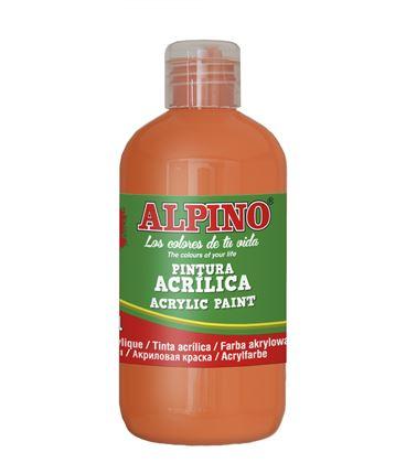 Pintura acrilica botella 250 ml naranja alpino dv000022 - 111550