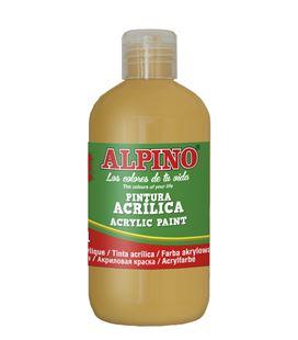 Pintura acrilica botella 250 ml ocre alpino dv000026 - 111554