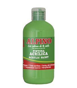 Pintura acrilica botella 250 ml verde claro alpino dv000028 - 111556