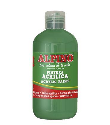 Pintura acrilica botella 250 ml verde prado alpino dv000029 - 111557