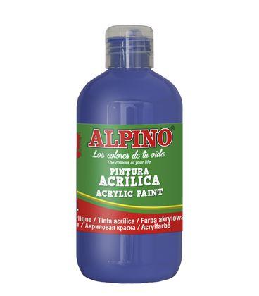 Pintura acrilica botella 250 ml azul ultramar alpino dv000031 - 111559
