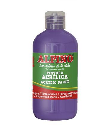 Pintura acrilica botella 250 ml violeta alpino dv000032 - 111560