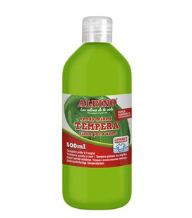 Tempera liquida 500 ml verde claro alpino dm010178