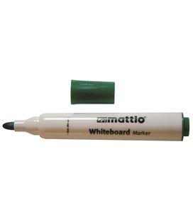 Rotulador pizarra verde punta conica 2,5mm mattio 49533