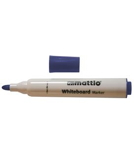 Rotulador pizarra azul punta conica 2,5mm mattio 49535 - MTT6023